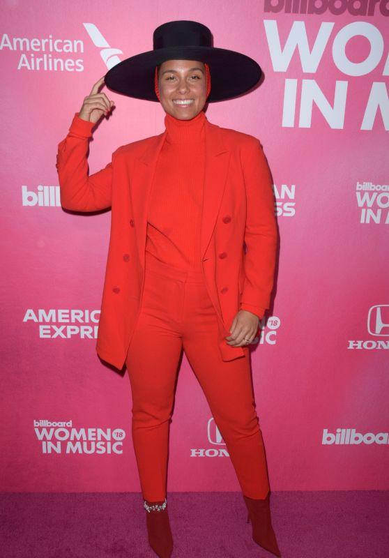 Alicia Keys – Billboard Women in Music 2018