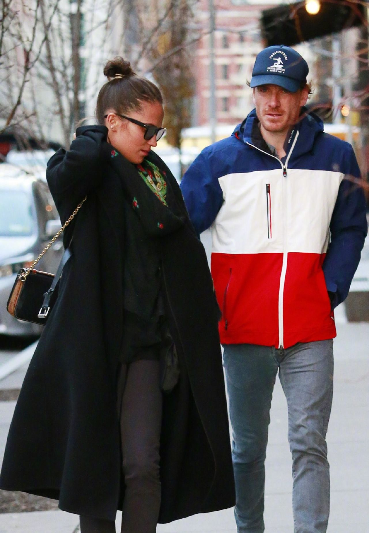 Alicia Vikander And Michael Fassbender Out In New York 12 18 2018