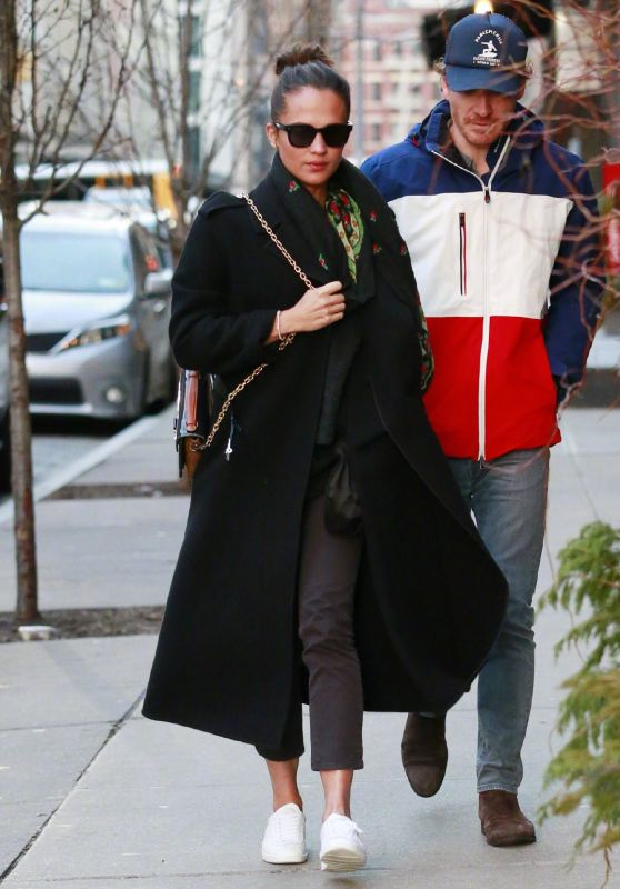 Alicia Vikander and Michael Fassbender - Out in New York 12/18/2018