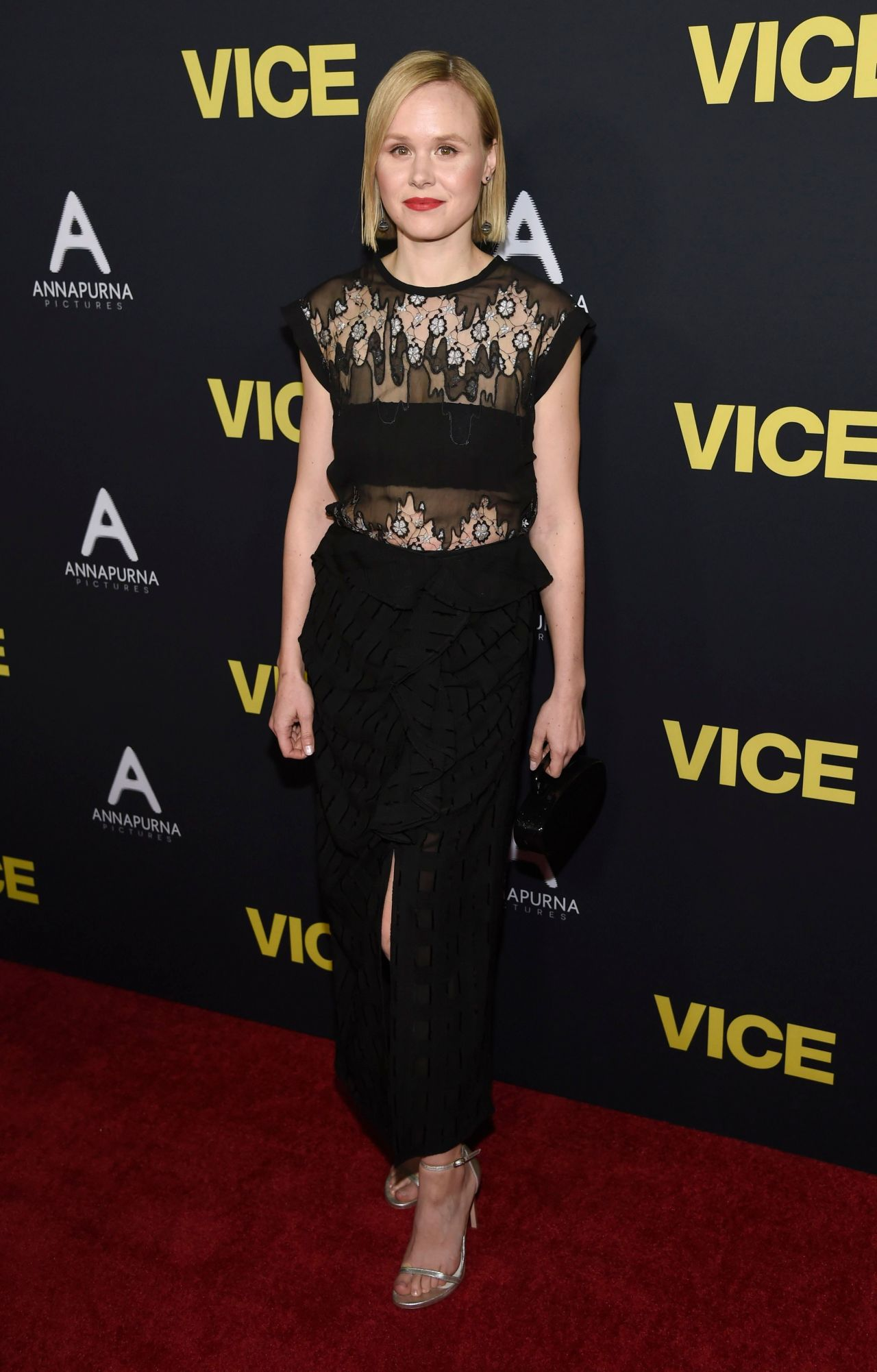 """Alison Pill Fotos alison pill – """"vice"""" premiere in beverly hills"""