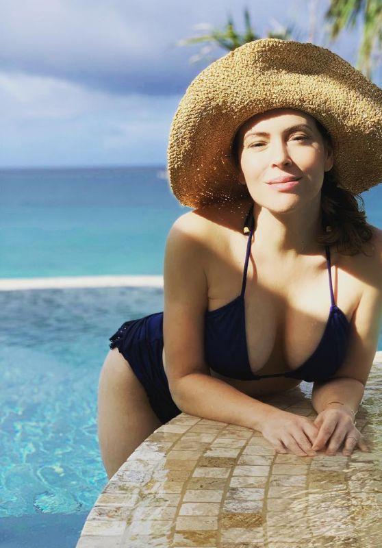 Alyssa Milano in Bikini - Personal Pics 12/04/2018