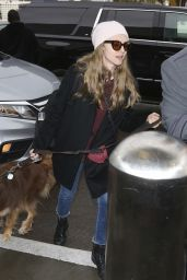 Amanda Seyfried - Departing LAX in LA 12/06/2018