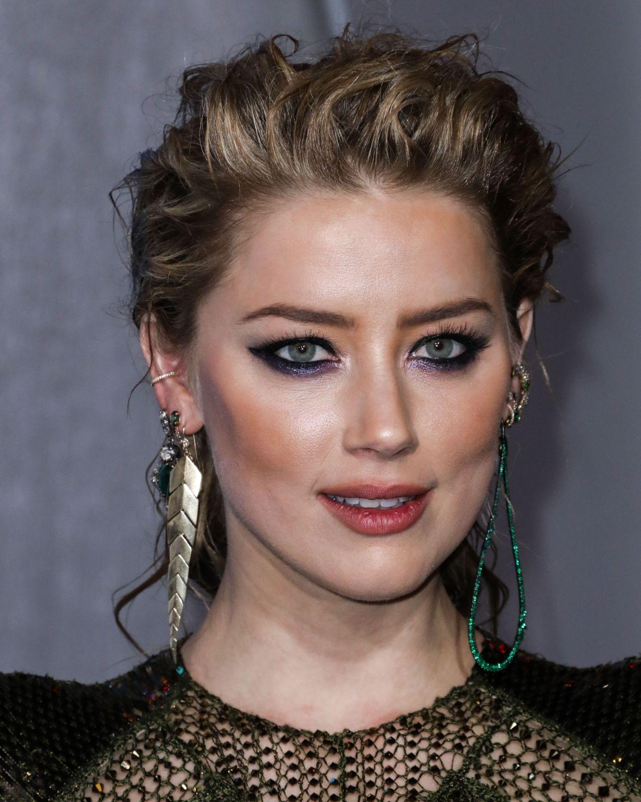 "Amber Heard: ""Aquaman"" Premiere In LA"