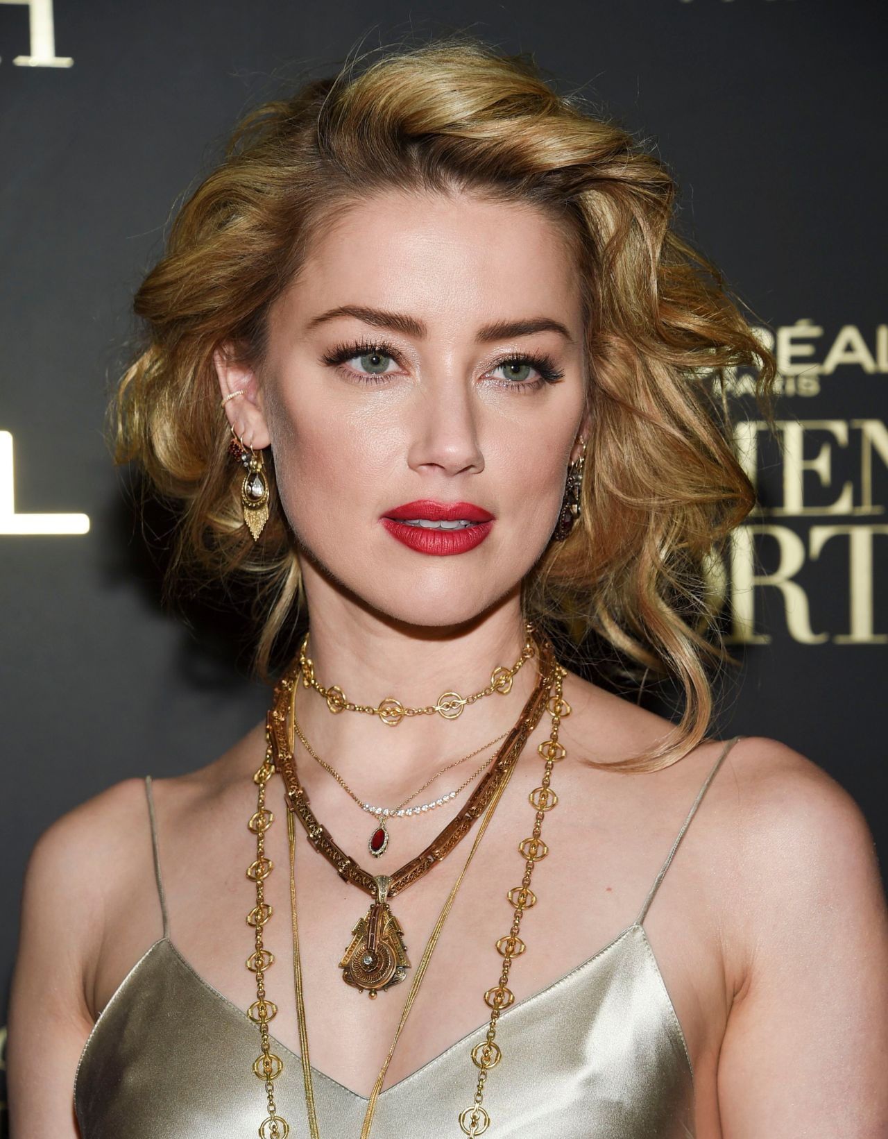 Amber Heard - L'Oréal Paris Women of Worth Celebration in ...