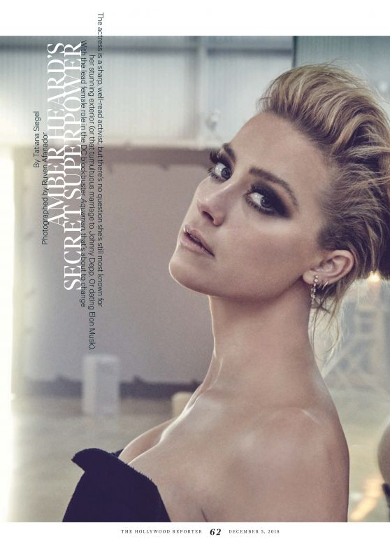 Amber Heard - The Hollywood Reporter 12/05/2018