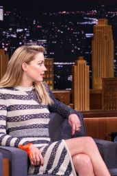 Amber Heard - Tonight Show Starring Jimmy Fallon 12/07/2018