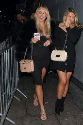Amber Turner at Faces Nightclub in London 12/15/2018