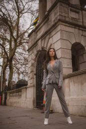 Amy Jackson - Photoshoot in London, December 2018