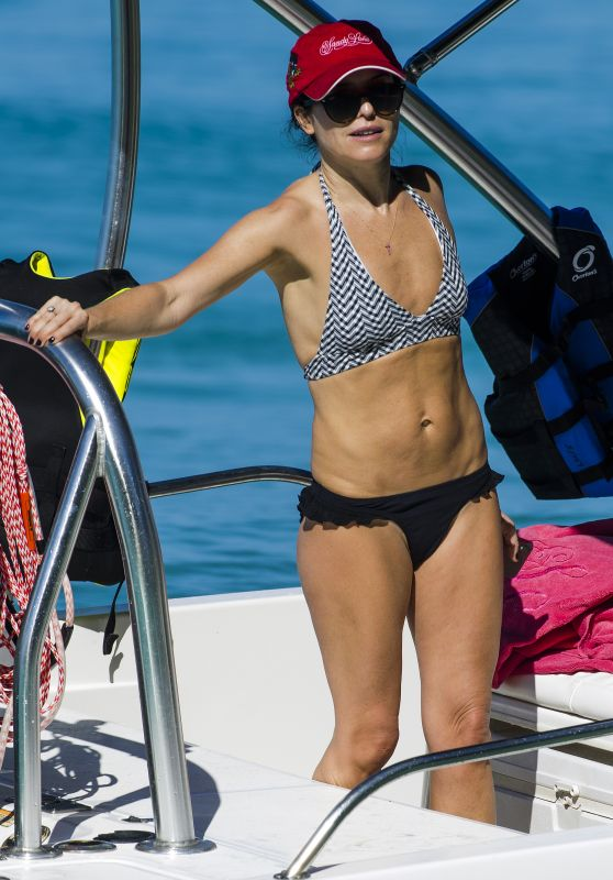 Andrea Corr in Bikini in Barbados 12/18/2018