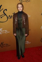 """AnnaSophia Robb – """"Mary Queen of Scots"""" Premiere in NY"""