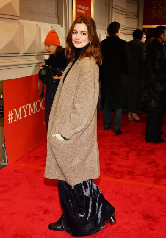 """Anne Hathaway - """"To Kill A Mocking Bird"""" Opening Night in NYC"""