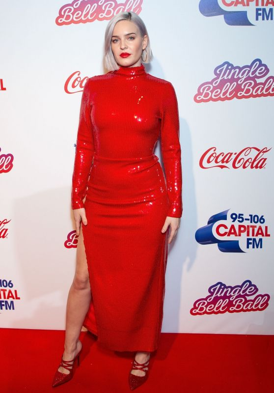 Anne-Marie – Capital FM Jingel Bell Ball 2018 in London