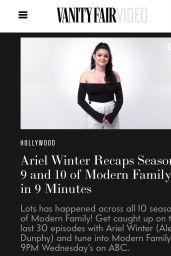 Ariel Winter - Personal Pics 12/13/2018