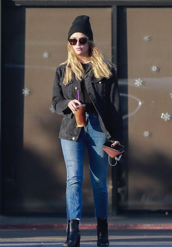 Ashley Benson Street Style 12/11/2018