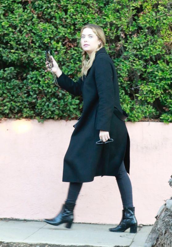 Ashley Benson Style - Leaving a Friend