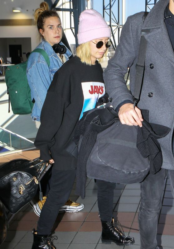 Ashley Tisdale at LAX Airport in LA 12/08/2018