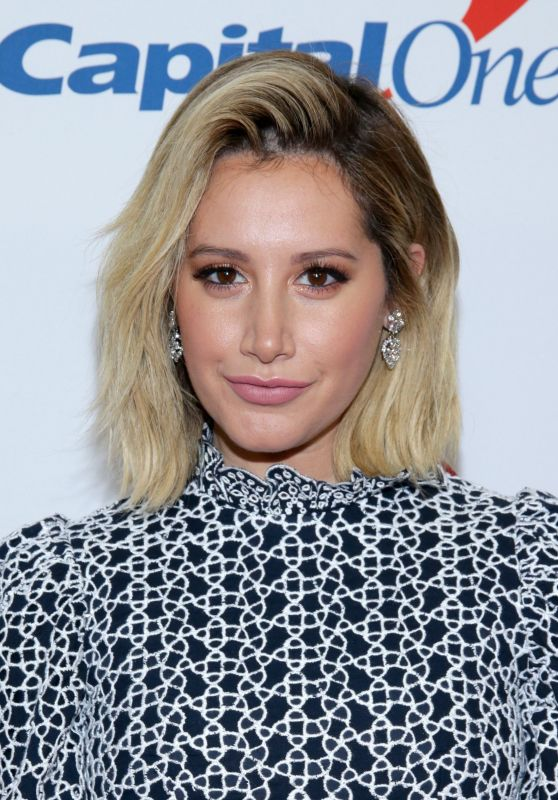 Ashley Tisdale – Jingle Ball 2018 in NYC