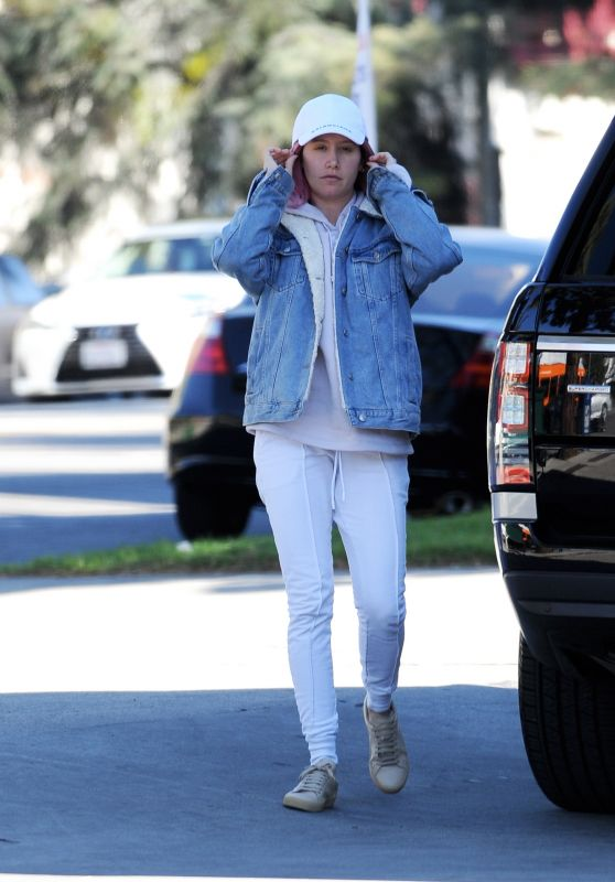 Ashley Tisdale Street Style - Out in LA 12/30/2018