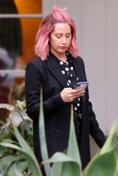 Ashley Tisdale Style - Out in Los Angeles 12/14/2018
