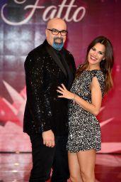 Bianca Guacceroi - Rai 2 Channel Detto, Fatto Christmas Edition TV Show Photocall in Milan
