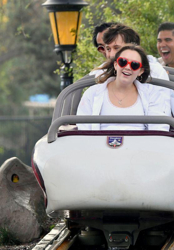 Billie Lourd at Disneyland 12/23/2018