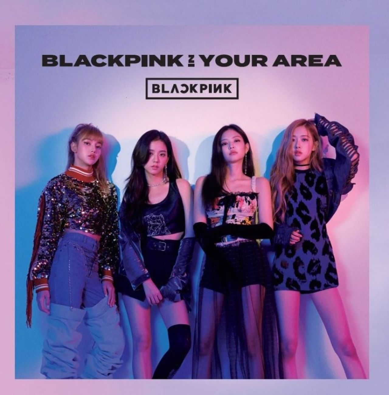 BLACKPINK IN YOUR AREA 1st Japanese Album