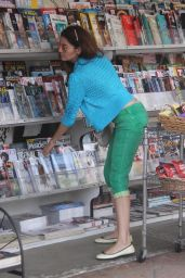 Blanca Blanco - Heads to the News Stand to Grab a Magazine 12/24/2018