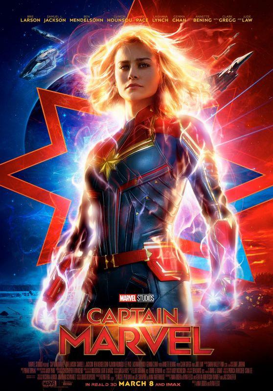 Brie Larson - Captain Marvel (2019) Poster