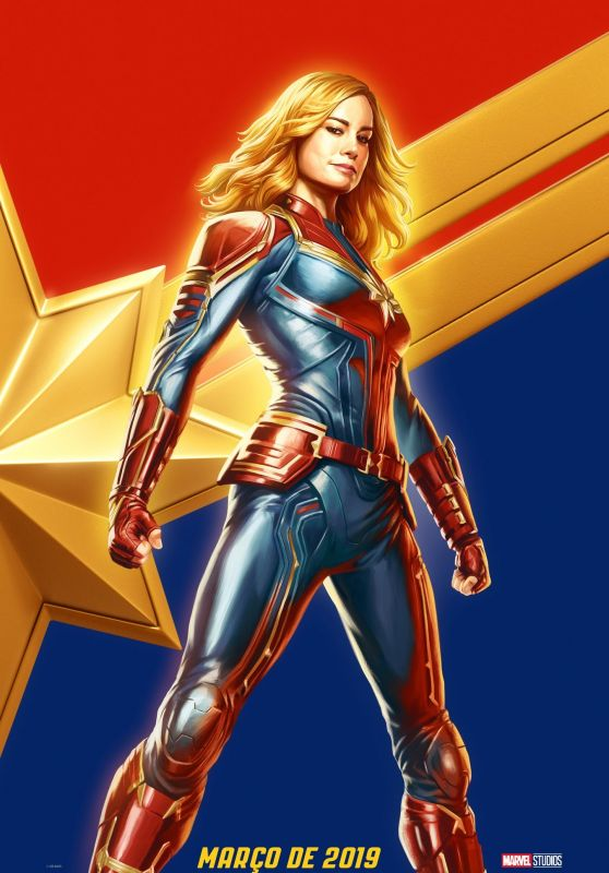 Brie Larson - Captain Marvel (2019) Promo Poster