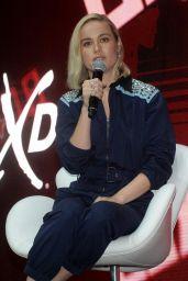 Brie Larson - Marvel Studios Panel at CCXP in Sao Paulo