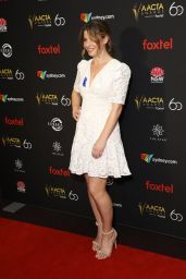 Brooke Satchwell – 2018 AACTA Awards Industry Luncheon in Sydney