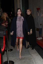 Camilla Belle Night Out Style 12/04/2018