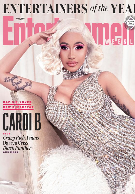 Cardi B - Entertainment Weekly December 2018