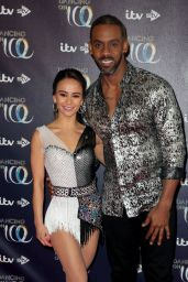 Carlotta Edwards – Dancing On Ice' TV Show Launch in London 12/18/2018