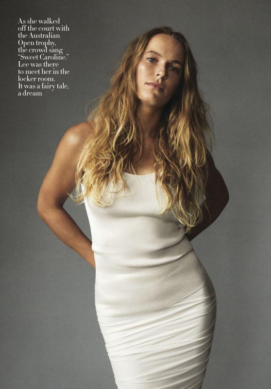 Caroline Wozniacki Vogue Us January 2019 Issue