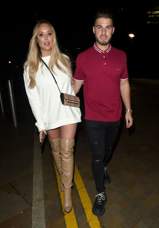 Charlotte Crosby and Josh Ritchie - Boxing Night Out 12/26/2018