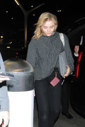 Chloe Moretz - Perpares to Jet Out of LA 12/15/2018