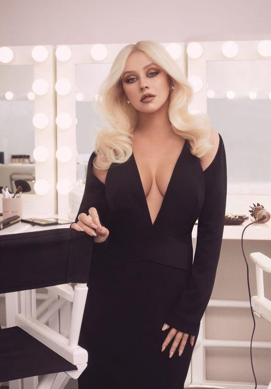Christina Aguilera - Lidl Photoshoots 2018