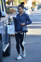 Christina Milian Street Style 12/11/2018