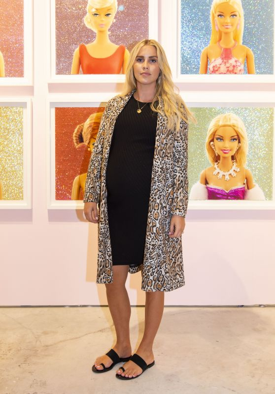 Claire Holt at Art Miami Event in Miami