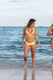 Claudia Romani and Lauren Francesca in Neon Bikini
