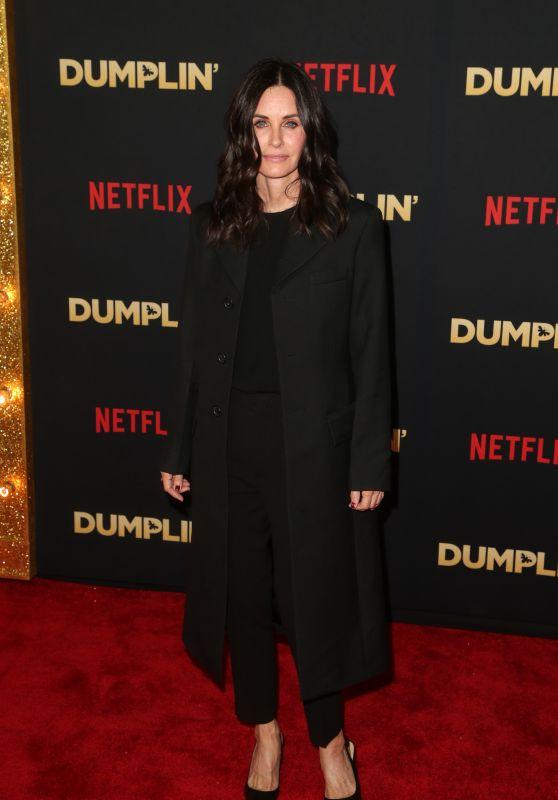 """Courteney Cox – """"Dumplin"""" Premiere in Hollywood"""
