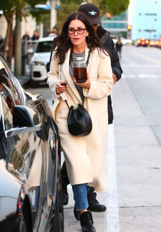 Courteney Cox - Shopping in West Hollywood 12/26/2018