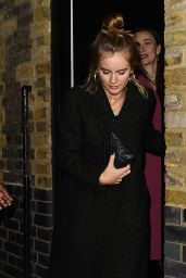 Cressida Bonas Night Out - Chiltern Firehouse in London 12/19/2018