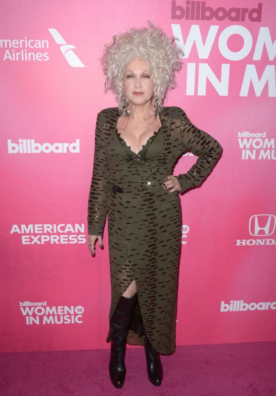 Cyndi Lauper – Billboard Women in Music 2018