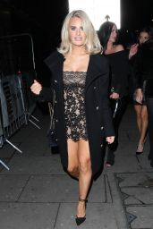 Danielle Armstrong Night Out Style 12/22/2018