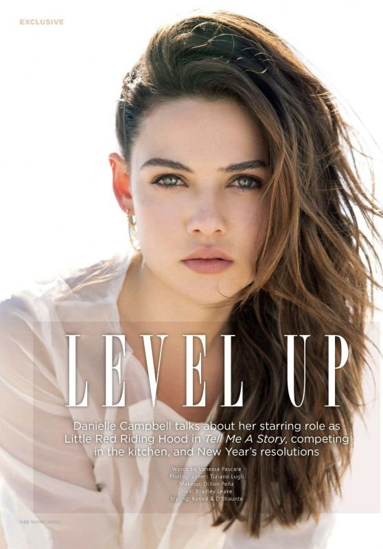Danielle Campbell - Miami Living Magazine December 2018 Issue