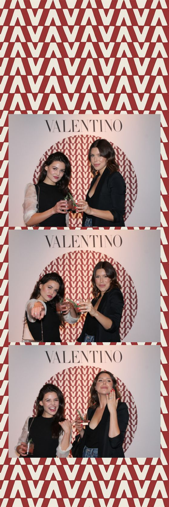 Danielle Campbell Valentino Rodeo Drive Men S Launch