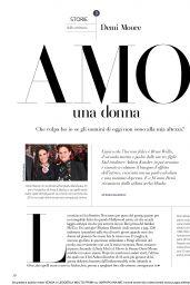 Demi Moore - F N51 Magazine January 2019 Issue