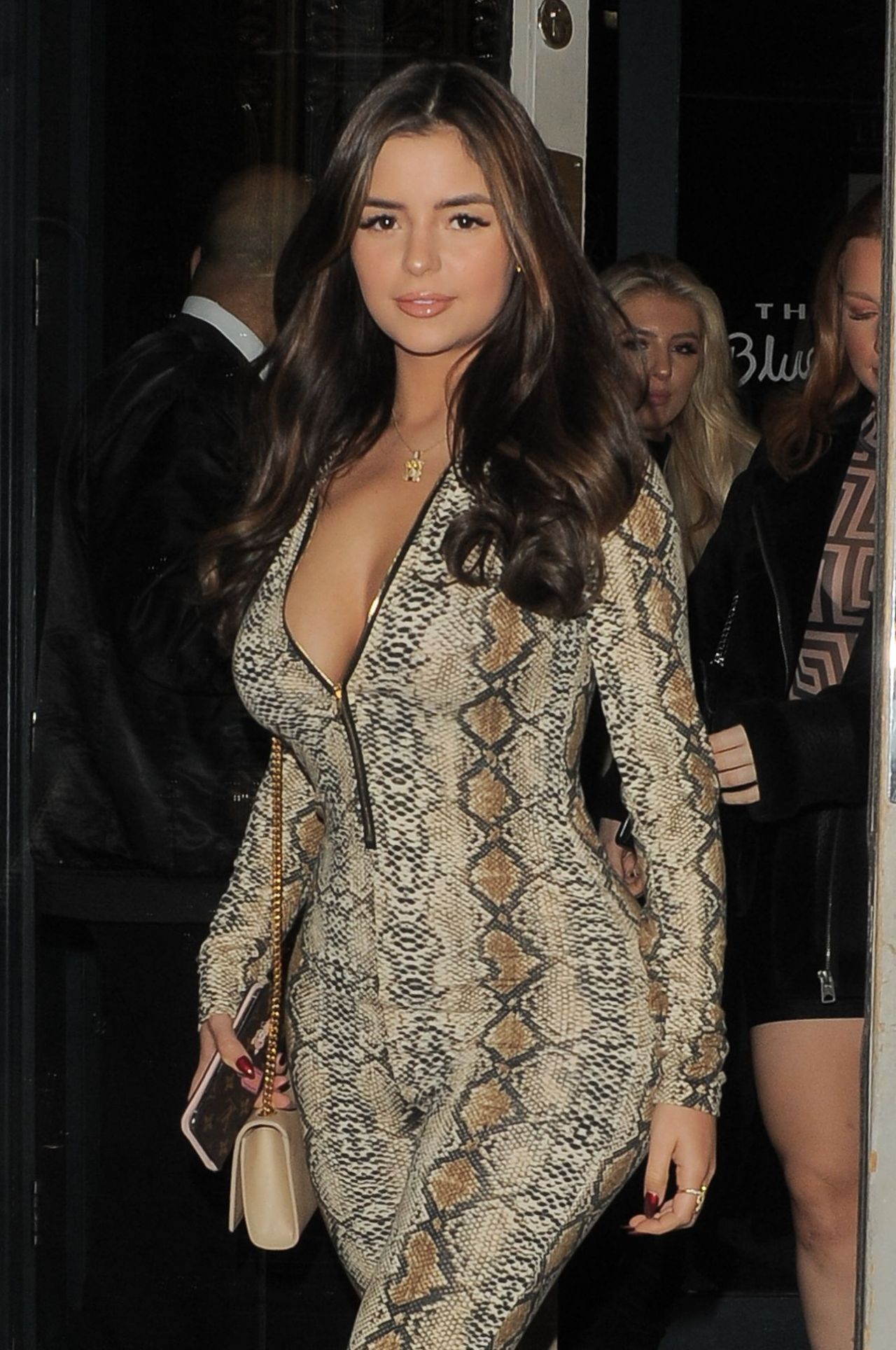 Demi Rose Night Out Style London 12 30 2018